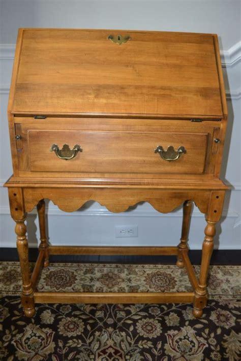 ethan allen drop front desk ethan allen antique maple furniture