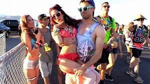 How To Pickup Girls At Raves! (EDC Las Vegas 2016) - Electronic Dance Music )