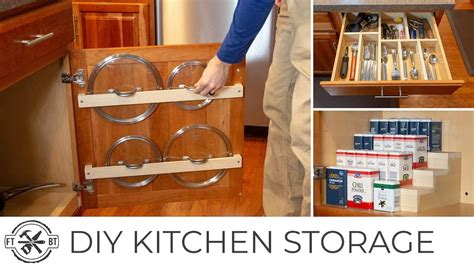 easy diy kitchen organization projects basic tools