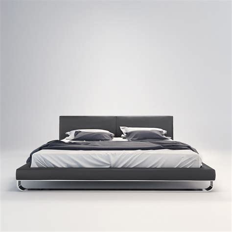 Modloft Chelsea Bed by Chelsea Bed Slate California King Modloft