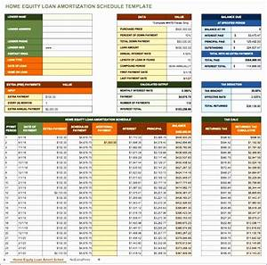 Excel Home Loan Calculator 10 Monthly Amortization Schedule Excel Template Excel