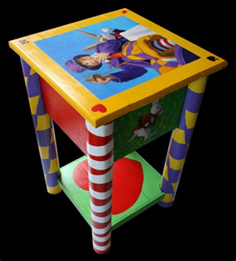 alice  wonderland table furniture spiderwebart gallery