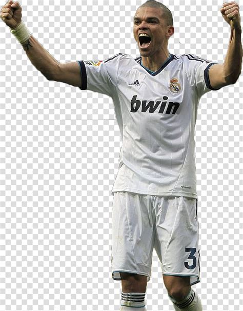 Pepe Real Madrid C.F. Jersey Soccer player Portugal ...