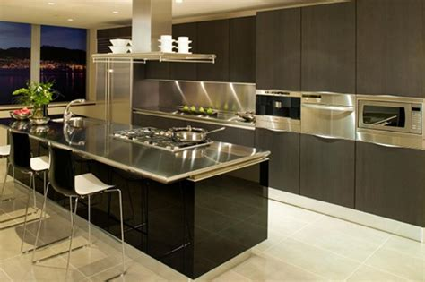 stainless steel kitchen designs 15 contemporary kitchen designs with stainless steel 5724