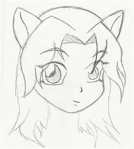 Easy Anime Drawings For Beginners - Drawings Nocturnal