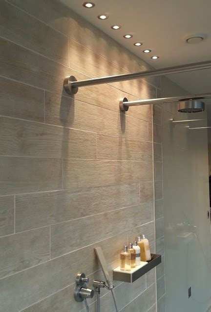 Shower Lights At The Lakes Contemporary Bathroom