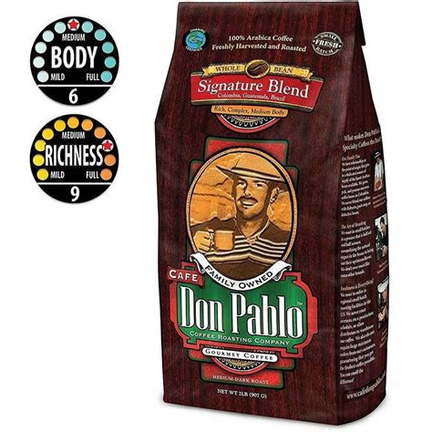3,238 likes · 89 talking about this · 68 were here. Cafe Don Pablo Signature Blend Medium-Dark Roast Whole Bean Coffee 2LB - Walmart.com