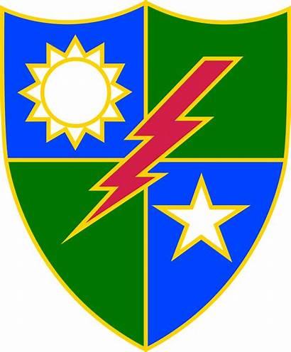 Ranger 75th Regiment Insignia Wikipedia Unit Svg