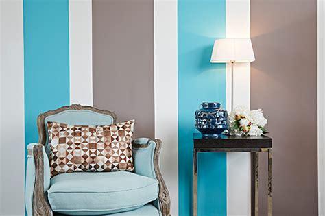 peindre une chambre avec deux couleurs peindre des rayures parfaites en 5 é déco solutions