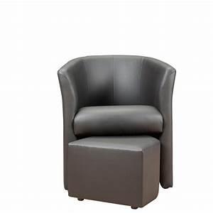 Fauteuil cabriolet simili cuir pas cher for Petit fauteuil cabriolet