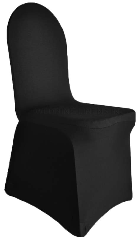 black spandex stretch banquet chair covers sale