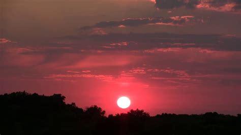 blue moon sunset moon rise time lapse youtube