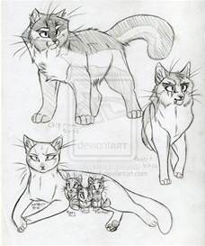 warrior cat drawings warrior cats set 17 by kasarawolf on deviantart