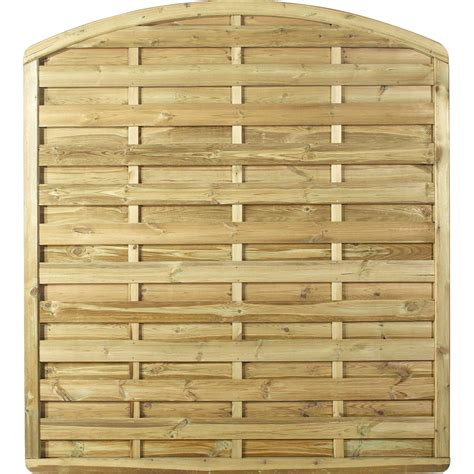 panneau brise vue bois panneau bois occultant luxe l 180 cm x h 200 cm naturel leroy merlin
