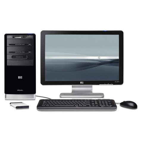 ordinateur de bureau hp pavilion ordinateur hp pavilion a6267 fr écran 20 quot achat