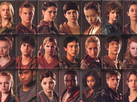 list of characters in hunger which female hunger games tribute are you playbuzz