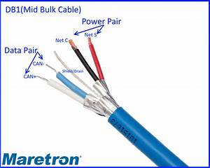 How Many Wires Are There In An Nmea 2000 Cable