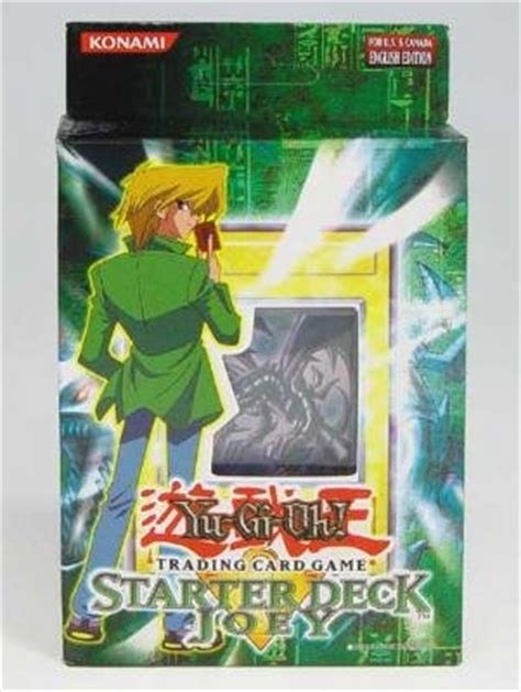 Yugioh Joey Starter Deck 1st Edition by Efgly Pqxz Yugioh Joey 1st Edition Starter Deck