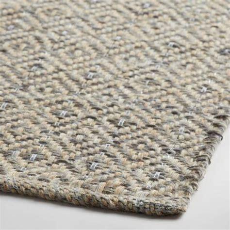 silver metallic area rug gray metallic woven jute alden area rug market