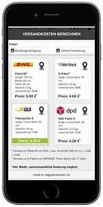 Dhl Versandkosten Berechnen : alternative paketzusteller im vergleich mobil ganz ~ Themetempest.com Abrechnung