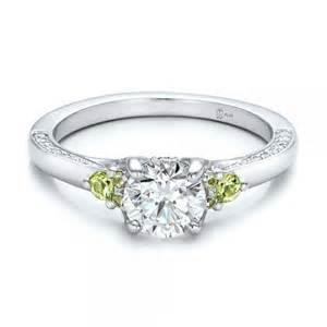 peridot wedding rings custom peridot and engagement ring 100887 bellevue seattle joseph jewelry
