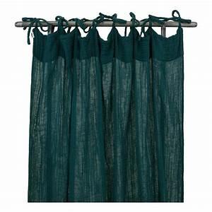 Rideau Bleu Pétrole : rideau bleu petrole ~ Farleysfitness.com Idées de Décoration