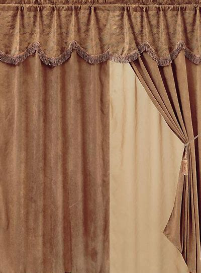 large paisley western drapes curtains and valances