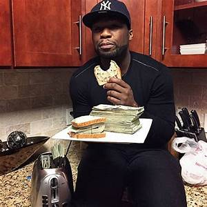 Rapper 50 Cent Shares Pics Of Him And Pile Of Cash In ...