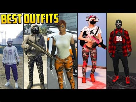 GTA Online FASHION FRIDAY! 34 NEW OUTFITS! (Asiimov Grey ...