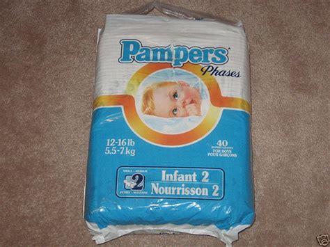 Vintage Pampers Diapers Luvs