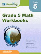 grade math worksheets  printable  learning