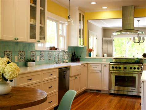 turquoise kitchen tiles photo page hgtv 2970