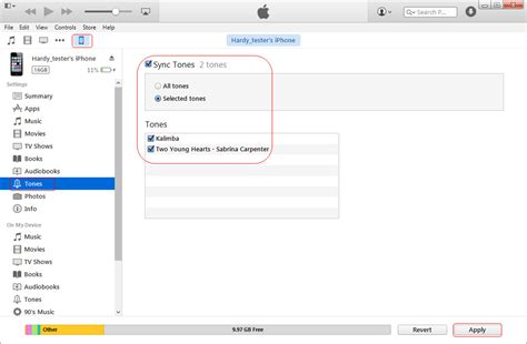 how to create a ringtone for iphone sync ringtones to iphone wirelessly