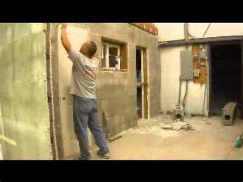 hanging  door  apex block construction icf icfs