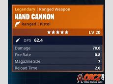 Fortnite Battle Royale Legendary Hand Cannon Orczcom