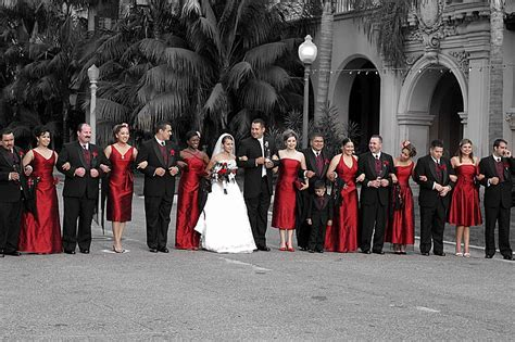 red and black table ls tbdress blog red wedding theme looks romantic and lovely