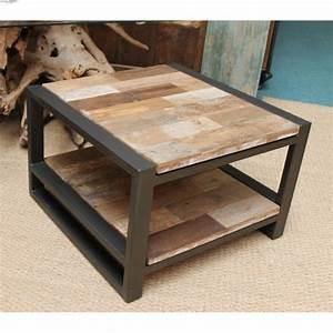 Table Bois Et Fer : table de salon bois et fer table basse rehaussable slowhand photography ~ Teatrodelosmanantiales.com Idées de Décoration
