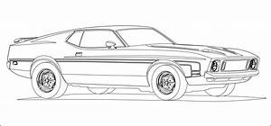 cars coloring pages free printable - muscle car coloring pages