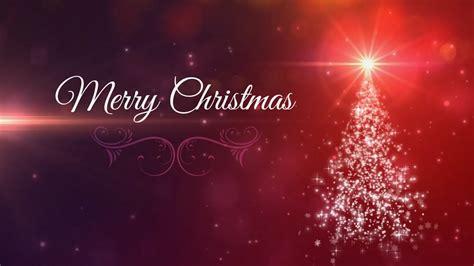 merry christmas animated background loop christmas card youtube