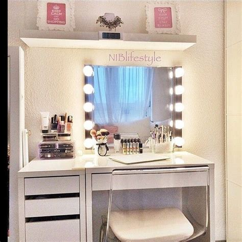 see through makeup desk small dressing table ideas melissa jane lee