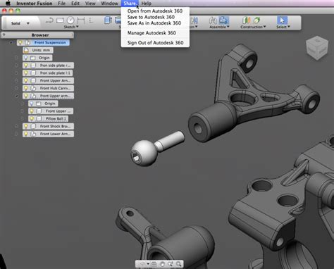 autodesk inventor for mac autodesk inventor fusion ready to bake your cad on a mac