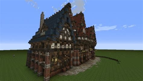 merovian houses minecraft building