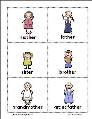 Family Members Flashcards  Buscar Con Google  English Activity  Pinterest  Buscar Con Google