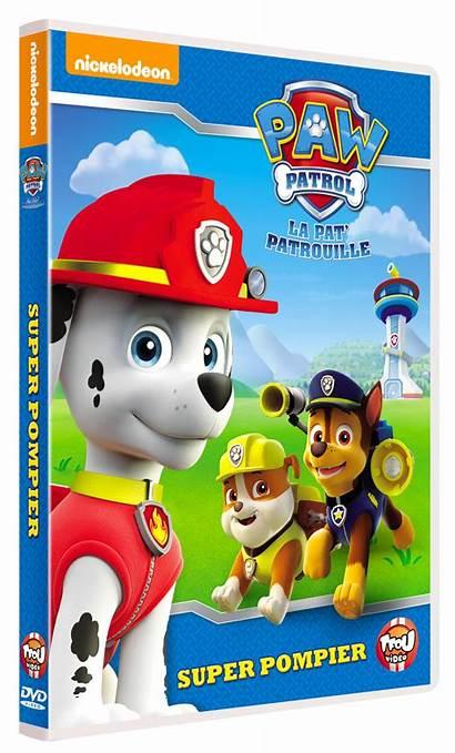 Dvd Patrouille Pat Paw Patrol Pompier Tfou