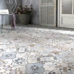 Carrelage Solde by Carrelage Sol Mix Couleur Effet Terre Cuite Villa L 20 X L