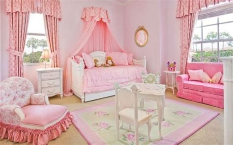 Girls Bedroom : Simple Pink Bedroom For Beautiful Girl On Lovekidszone