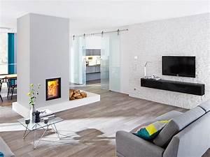 Wand Mit Steinoptik : kreative wandgestaltung im wohnzimmer 3d wandpaneele ~ Markanthonyermac.com Haus und Dekorationen
