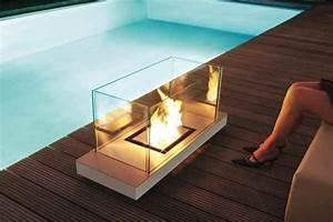 Feuerstelle Für Terrasse : design feuerstelle f r au en mit ethanol f r eine lagerfeuerromantik ~ Frokenaadalensverden.com Haus und Dekorationen
