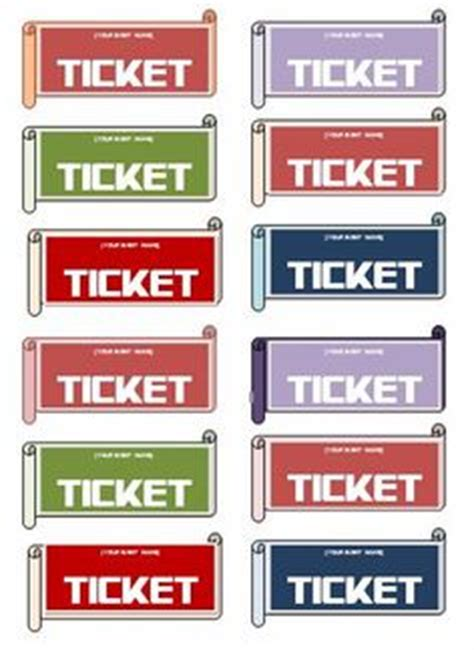 images ticket template templates event