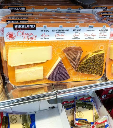 costcos  cheese flight sounds    snack